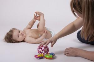 Nácvik manipulace s dítětem